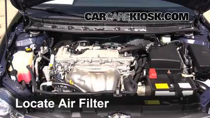 2011-2016 scion tc engine air filter check - 2012 scion tc ... 2011 jeep wrangler sport fuel filter the location of fuel filter on a 2011 jeep wrangler #7