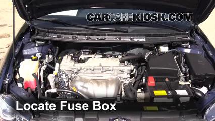 Replace a Fuse: 2011-2016 Scion tC - 2012 Scion tC 2.5L 4 Cyl.CarCareKiosk