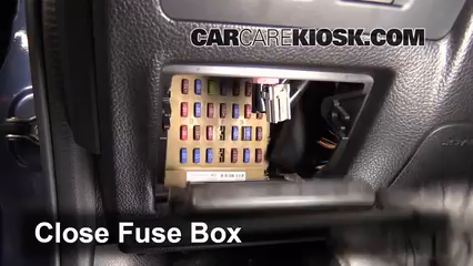 Interior Fuse Box Location 2012 2016 Subaru Impreza