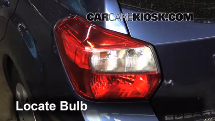 Reverse Light Replacement 2012 2016 Subaru Impreza 2012