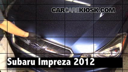 2012 Subaru Impreza 2.0L 4 Cyl. Wagon Review