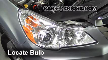 Highbeam Brights Change 2010 2014 Subaru Outback 2013