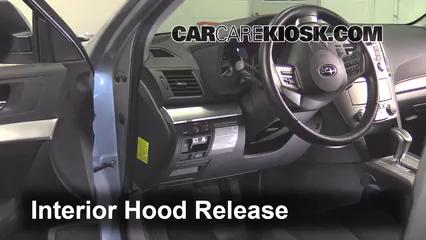 How to Add Refrigerant to a 2010-2014 Subaru Outback - 2012