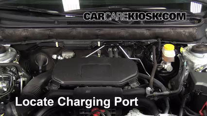Cold Lake Dodge >> How to Add Refrigerant to a 2010-2014 Subaru Outback - 2012 Subaru Outback 2.5i Premium 2.5L 4 Cyl.