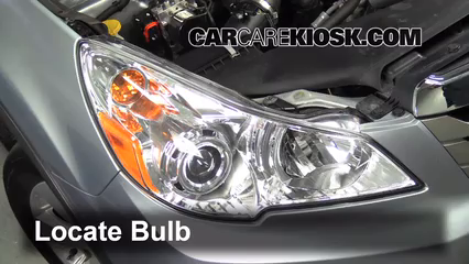 2012 Subaru Outback 2.5i Premium 2.5L 4 Cyl. Lights Highbeam (replace bulb)