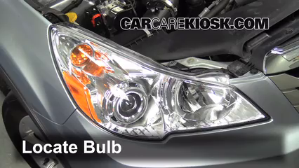 2012 Subaru Outback 2.5i Premium 2.5L 4 Cyl. Lights Headlight (replace bulb)