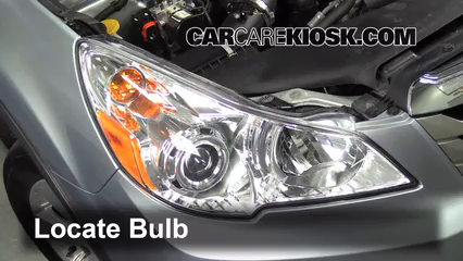 2012 Subaru Outback 2.5i Premium 2.5L 4 Cyl. Lights Turn Signal - Front (replace bulb)