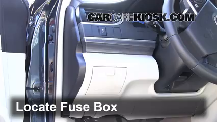 interior fuse box location 2012 2014 toyota camry 2012 toyota