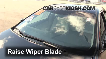 2012 Toyota Camry Hybrid XLE 2.5L 4 Cyl. Windshield Wiper Blade (Front) Replace Wiper Blades
