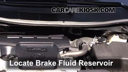 2012 Toyota Camry LE 2.5L 4 Cyl. Brake Fluid Check Fluid Level