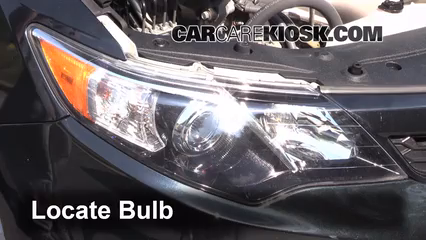 2012 toyota camry se fog light replacement