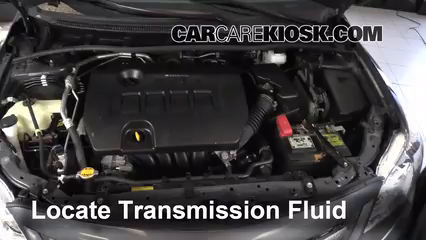 Add Transmission Fluid 2009 2013 Toyota Corolla 2012 Toyota Rh Carcarekiosk  Com Toyota Transmission Rebuild Diagram Toyota Manual Transmission Oil