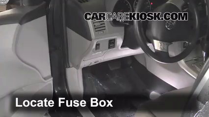 interior fuse box location 2009 2013 toyota corolla 2012 toyota rh carcarekiosk com 2009 toyota corolla interior fuse box location 2008 Toyota Corolla Fuse Box Location