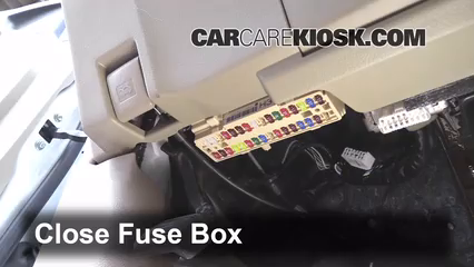 Interior Fuse Box Location: 2008-2013 Toyota Highlander - 2012 ...