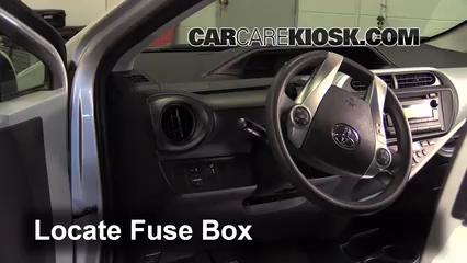 2012 Toyota Prius C 1.5L 4 Cyl.%2FFuse Interior Part 1 replace a fuse 2012 2015 toyota prius c 2012 toyota prius c 1 5  at highcare.asia