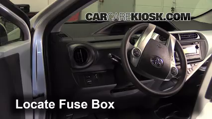 Fuse Interior Part 1 interior fuse box location 2012 2015 toyota prius c 2012 toyota access to 2010 prius fuse box at cos-gaming.co