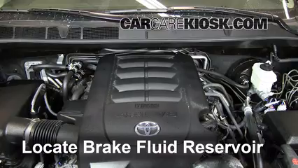 2012 Toyota Sequoia SR5 4.6L V8 Brake Fluid