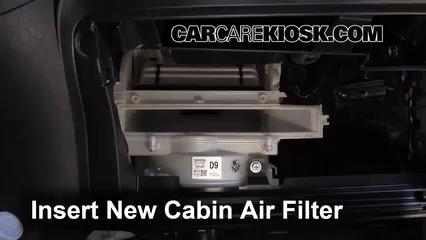 Cabin Filter Replacement: Toyota Yaris 2012-2017 - 2012 ...