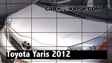 2012 Toyota Yaris L 1.5L 4 Cyl. Hatchback (4 Door) Review