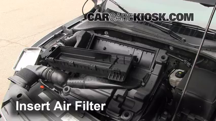 2012-2019 Volkswagen Passat Engine Air Filter Check - 2012