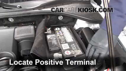 How to Jumpstart a 2012-2017 Volkswagen Passat - 2012 Volkswagen Passat S 2.5L 5 Cyl. Sedan (4 Door)
