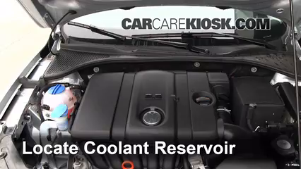coolant leak vw cc