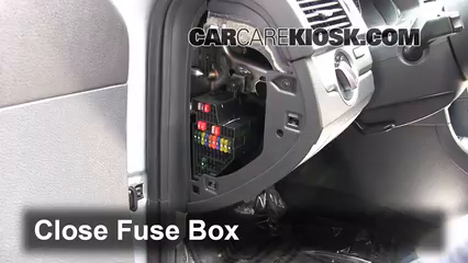 interior fuse box location   volkswagen passat
