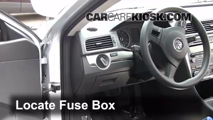 interior fuse box location 2012 2019 volkswagen passat. Black Bedroom Furniture Sets. Home Design Ideas