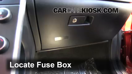 Interior Fuse Box Location: 2011 2017 Volvo S60