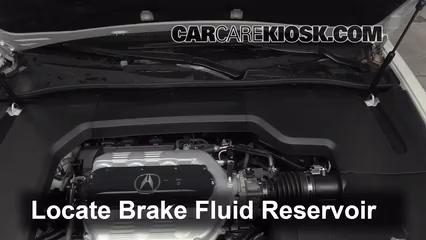 2012 Acura TL 3.5L V6 Liquide de frein