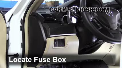 2012 Acura TL 3.5L V6 Fusible (intérieur)