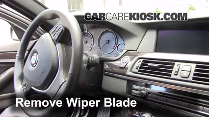 2012 BMW 528i xDrive 2.0L 4 Cyl. Turbo Balais essuie-glace avant