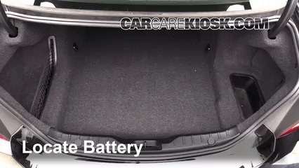 2012 BMW 550i xDrive 4.4L V8 Turbo Batterie