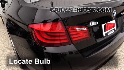 2012 BMW 550i xDrive 4.4L V8 Turbo Lights Reverse Light (replace bulb)