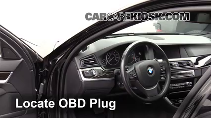 2012 BMW 550i xDrive 4.4L V8 Turbo Lumière « Check engine » du moteur