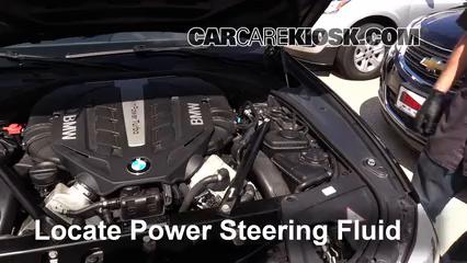 2012 BMW 550i xDrive 4.4L V8 Turbo Liquide de direction assistée