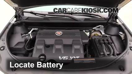 2012 Cadillac SRX Luxury 3.6L V6 FlexFuel Batterie