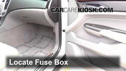 2012 Cadillac SRX Luxury 3.6L V6 FlexFuel Fusible (intérieur)