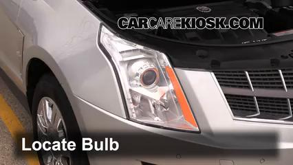2012 Cadillac SRX Luxury 3.6L V6 FlexFuel Luces Luz de estacionamiento (reemplazar foco)