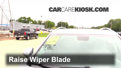 2012 Cadillac SRX Luxury 3.6L V6 FlexFuel Windshield Wiper Blade (Front)