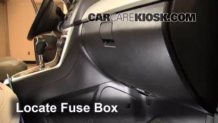 2012 Chevrolet Captiva Sport LTZ 3.0L V6 FlexFuel Fuse (Interior)