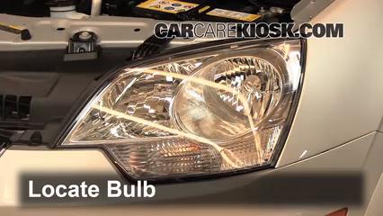 2012 Chevrolet Captiva Sport LTZ 3.0L V6 FlexFuel Luces Luz de giro delantera (reemplazar foco)