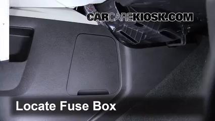 Interior Fuse Box Location: 2010-2017 Chevrolet Equinox - 2012 Chevrolet  Equinox LT 2.4L 4 Cyl. FlexFuel | 2015 Chevy Equinox Fuse Diagram |  | CarCareKiosk