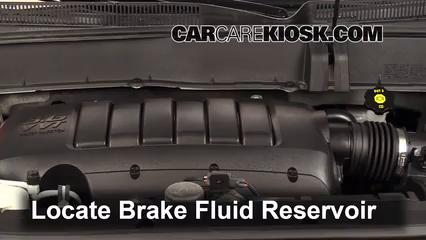 2012 Chevrolet Traverse LS 3.6L V6 Liquide de frein