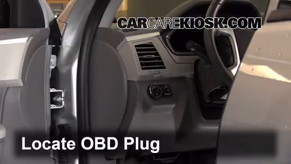 2012 Chevrolet Traverse LS 3.6L V6 Lumière « Check engine » du moteur
