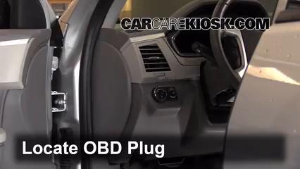 2012 Chevrolet Traverse LS 3.6L V6 Compruebe la luz del motor