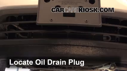2012 Chevrolet Traverse LS 3.6L V6 Aceite Cambiar aceite y filtro de aceite