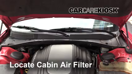 2012 Dodge Charger RT 5.7L V8 Air Filter (Cabin)