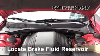 2012 Dodge Charger RT 5.7L V8 Brake Fluid