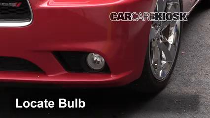 2012 Dodge Charger RT 5.7L V8 Luces Luz de niebla (reemplazar foco)